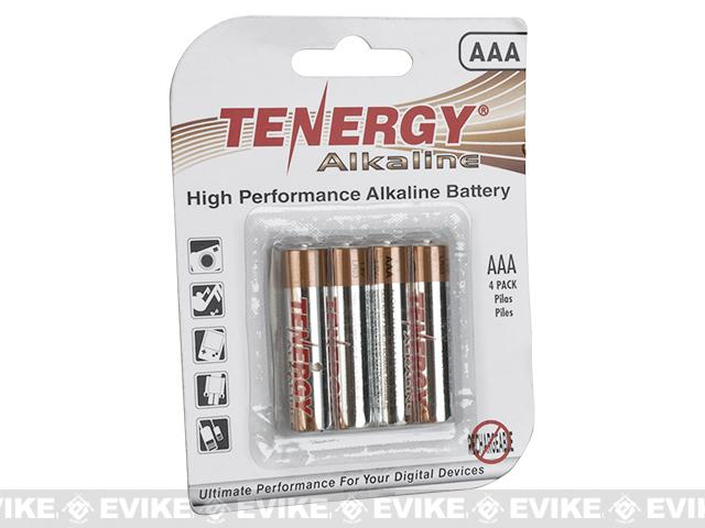 Tenergy High Performance Alkaline AAA Batteries (Package: 4 Batteries)
