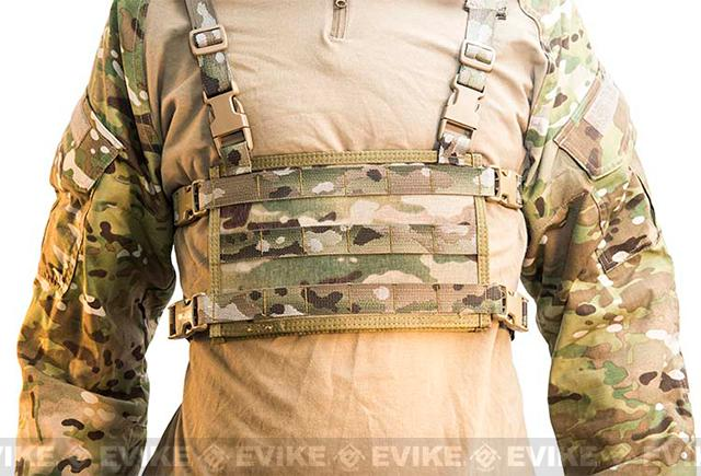 HSGI Light Chest Rig MOLLE Platform - Multicam