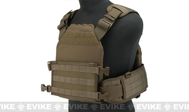 HSGI MPC Modular Plate Carrier (Color: Coyote / Large Carrier / Medium Sure Grip)