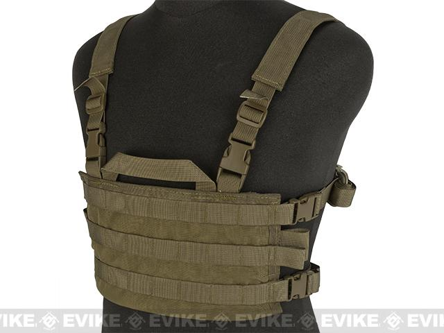 HSGI AO Small Chest Rig (Color: Coyote Brown)