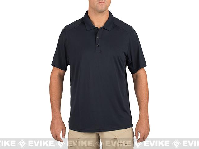z 5.11 Tactical Helios Short Sleeve Polo - Dark Navy (Size: Large)