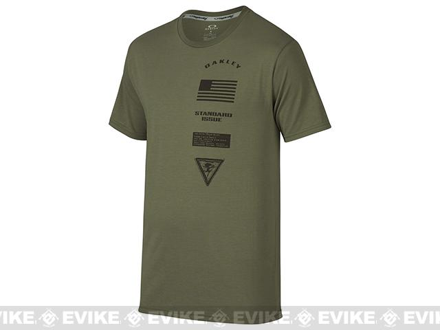 Oakley Insignia T-Shirt - Worn Olive (Size: Large)