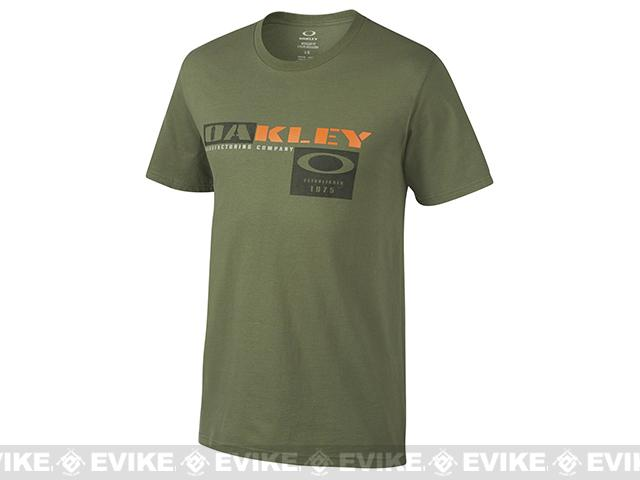 Oakley Trigger T-Shirt - Worn Olive (Size: Medium)