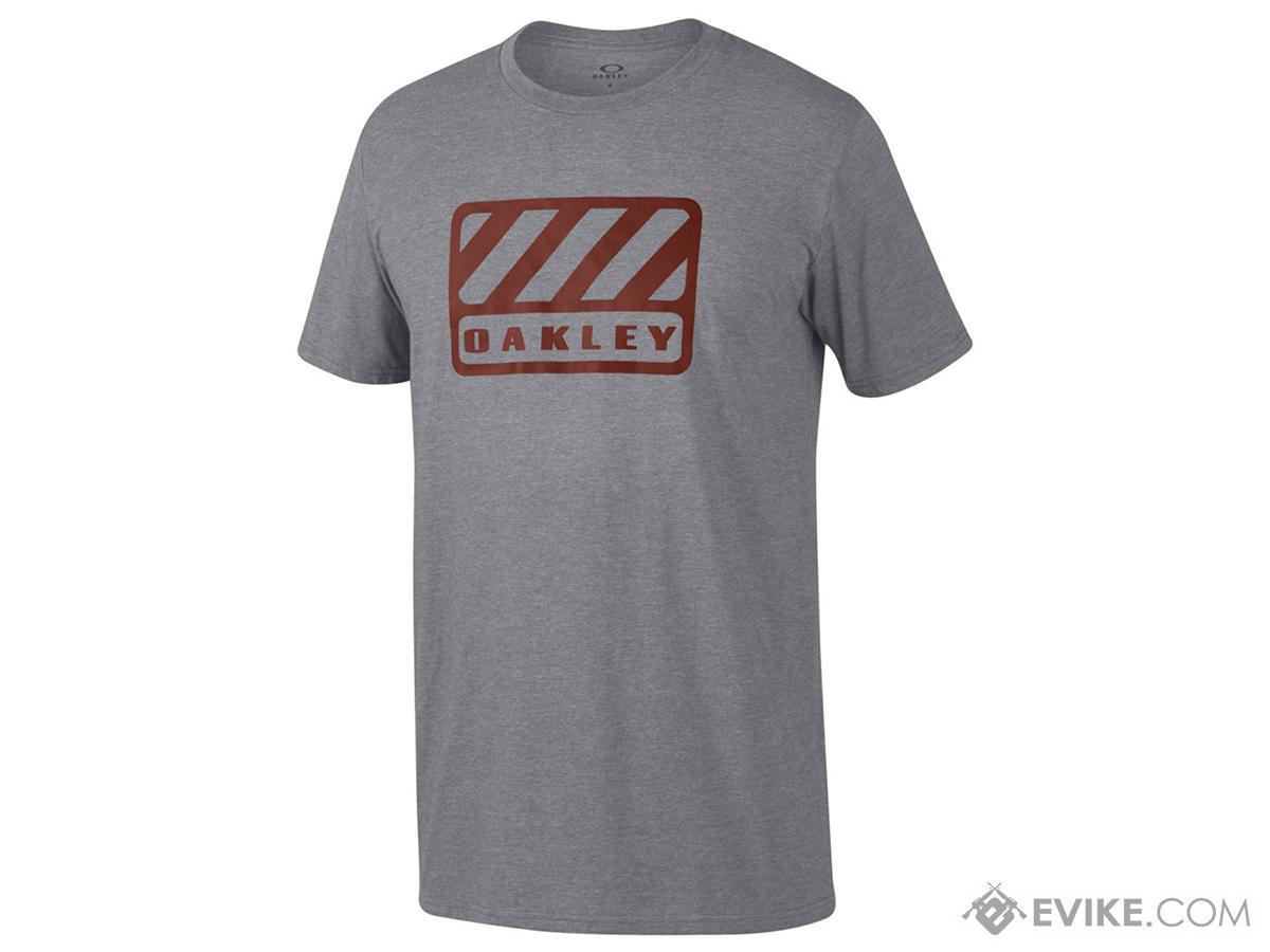 Oakley  50/50 Badge  T-Shirt - Grey (Size: Large)