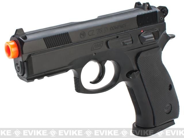 ASG Licensed High Power CZ75D Compact Airsoft Gas Pistol