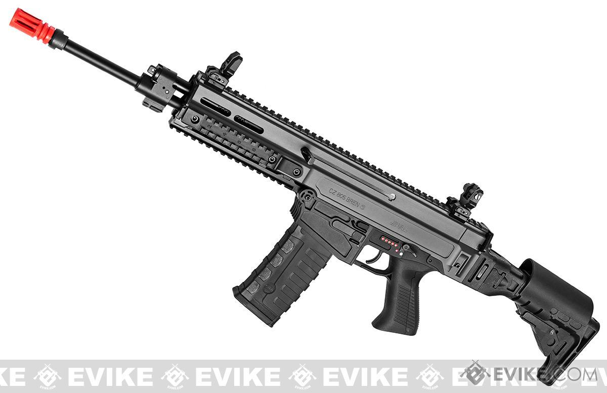 ASG Fully Licensed CZ 805 Bren-A1 Carbine Airsoft AEG (Color: Two-Tone Grey)