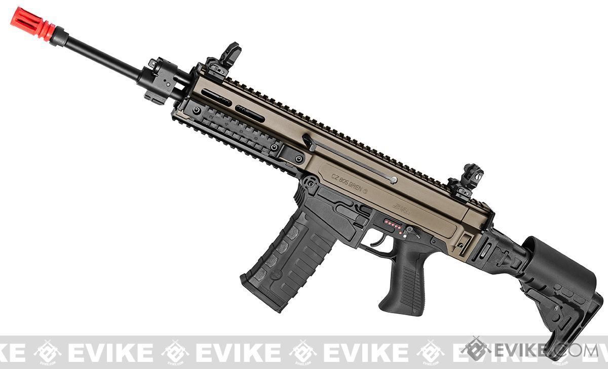 ASG Fully Licensed CZ 805 Bren-A1 Carbine Airsoft AEG (Color: Two-Tone Desert)