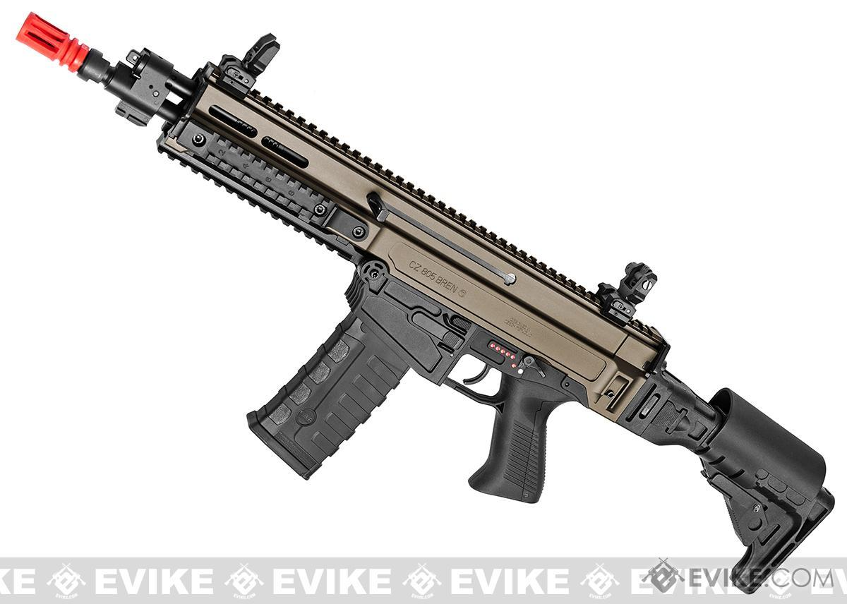ASG Fully Licensed CZ 805 Bren-A2 Carbine Airsoft AEG (Color: Two-Tone Desert)