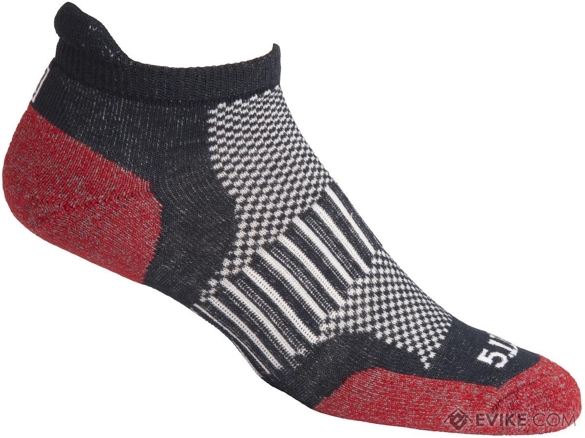 5.11 Tactical ABR Training Sock (Color: Lava / Large)