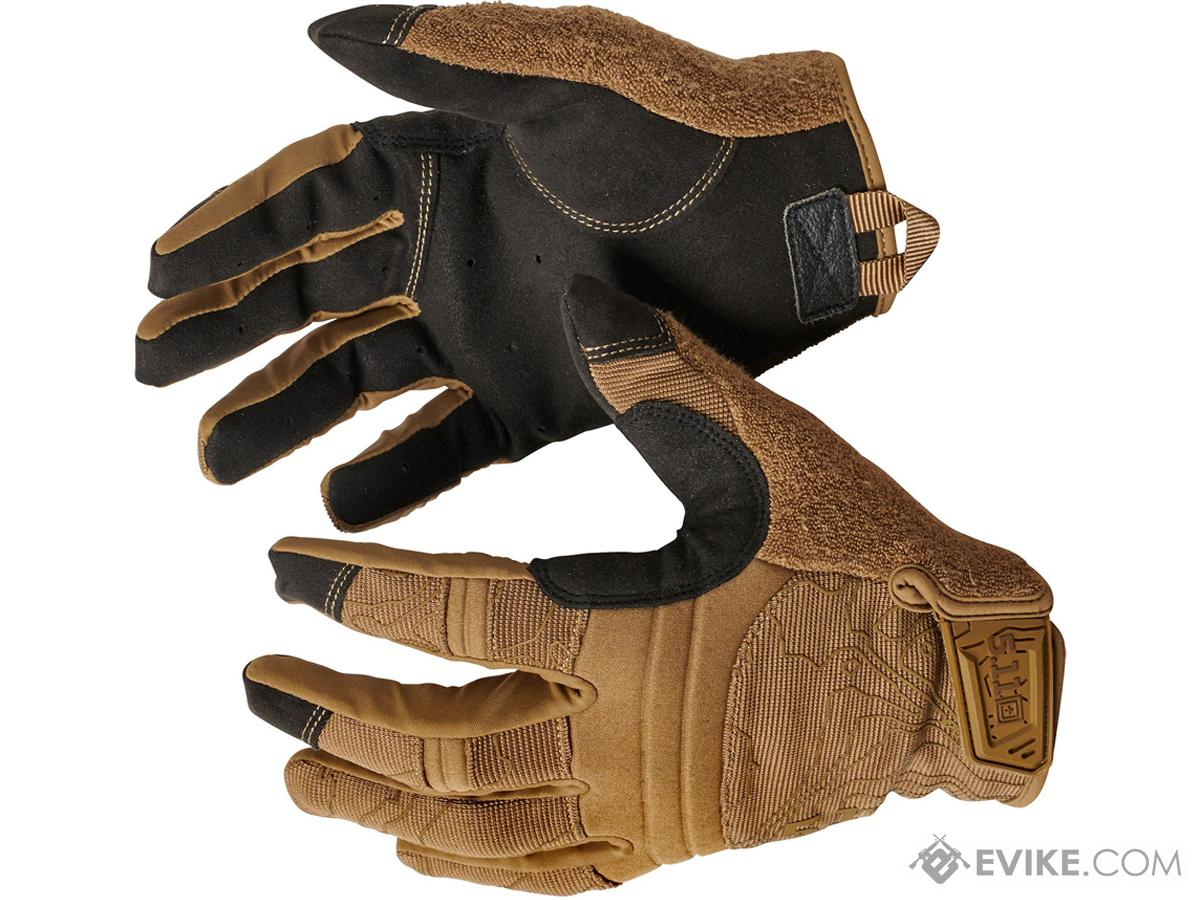 5.11 Tactical Competition Shooting Glove (Color: Kangaroo / Medium)