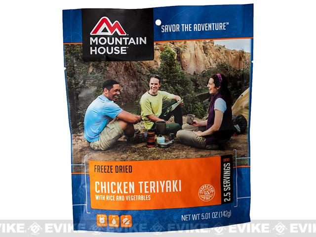 Mountain House Freeze Dried Entree- Chicken Teriyaki with Rice
