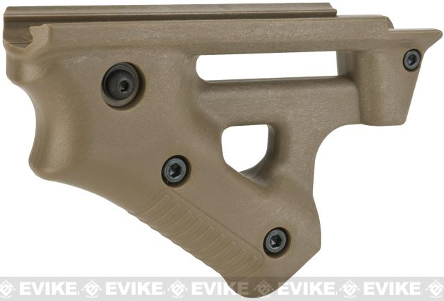 Laylax Custom Ergonomic Canted Foregrip (Color: Tan)