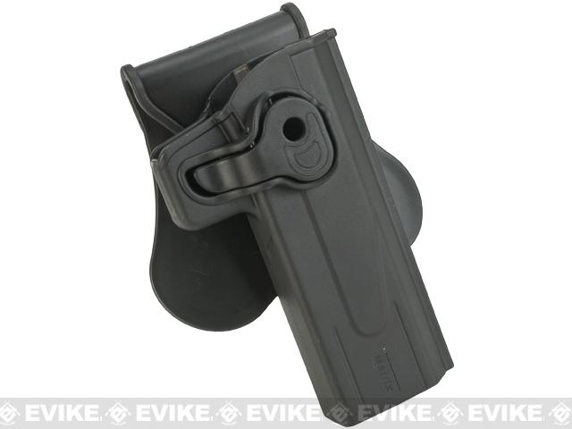 Pre-Order ETA November 2019 Matrix Hardshell Adjustable Holster for STI Hi-Capa 2011 Series Pistols (Type: Black / Paddle Attachment)