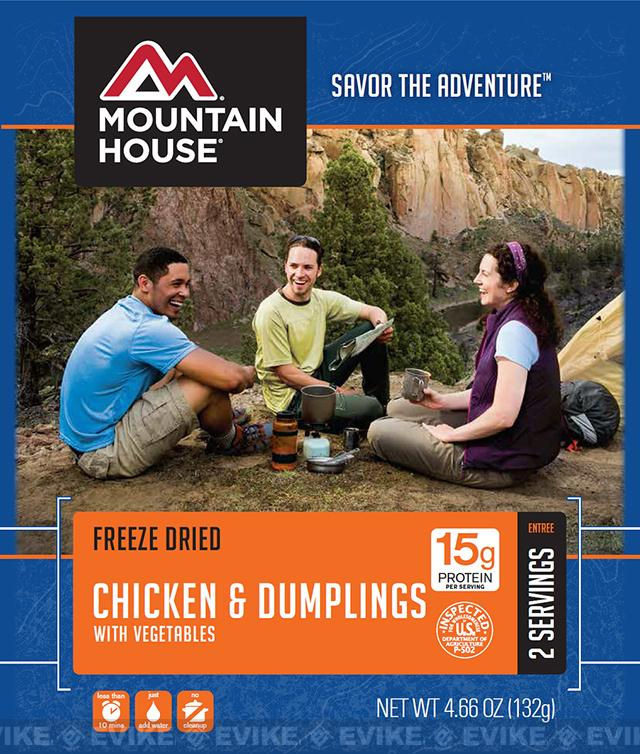Mountain House Freeze Dried Entree- Chicken and Dumplings