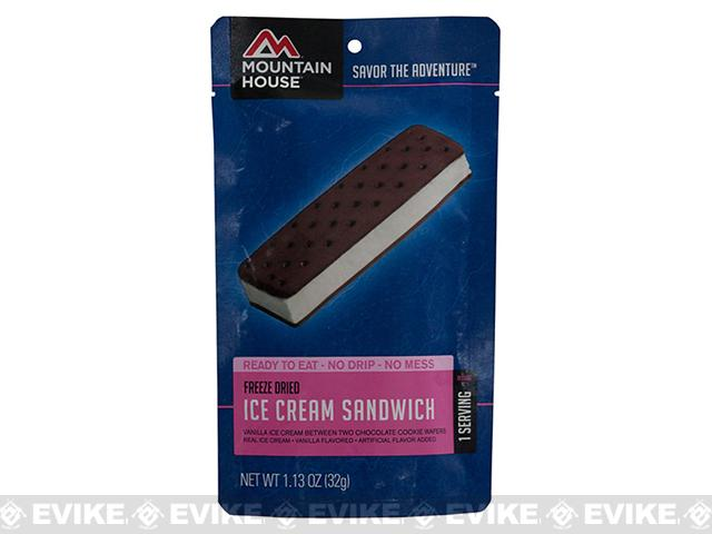 Mountain House Freeze Dried Camping Food (Menu: Ice Cream Sandwich / Dessert)