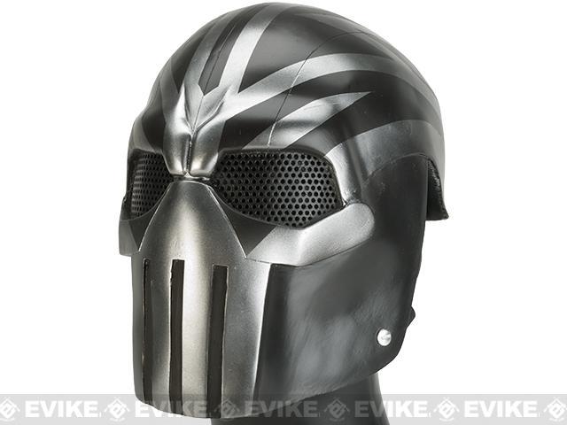 Evike.com R-Custom Fiberglass Wire Mesh Task Master Full Face Mask - Raiden