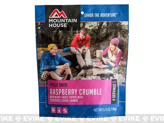 Mountain House Freeze Dried Dessert - Raspberry Crumble