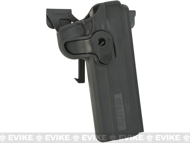 Matrix Hardshell Adjustable Holster for 1911 Series Pistols Airsoft Pistols (Mount: MOLLE Attachment)