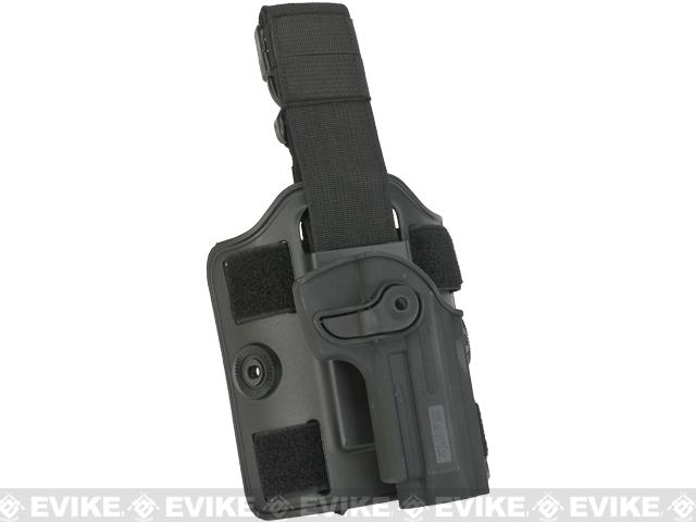 Matrix Hardshell Adjustable Holster for M9 Series Pistols (Mount: Drop Leg)