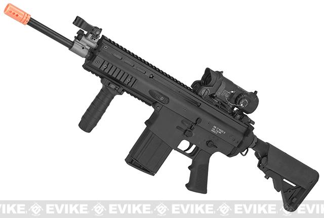 WE-TECH MK17 Spec. Ops Seal Custom Gas Blowback Airsoft Rifle (Color: Black)