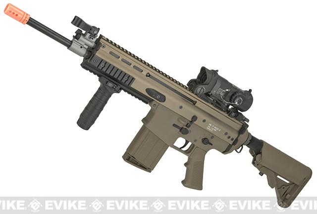 WE-TECH MK17 Spec. Ops Seal Custom Gas Blowback Airsoft Rifle (Color: Tan)