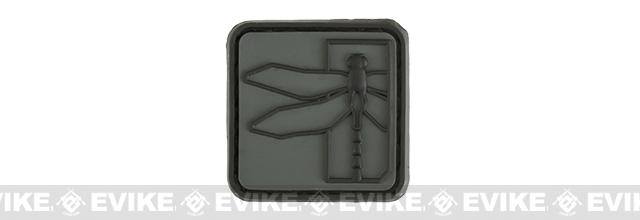 Haley Strategic Partners Dragonfly PVC Cat Eye Patch - Disruptive Grey