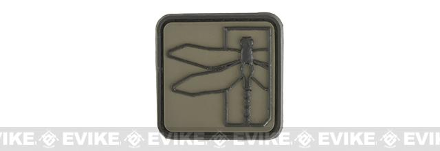 Haley Strategic Partners Dragonfly PVC Cat Eye Patch - OD