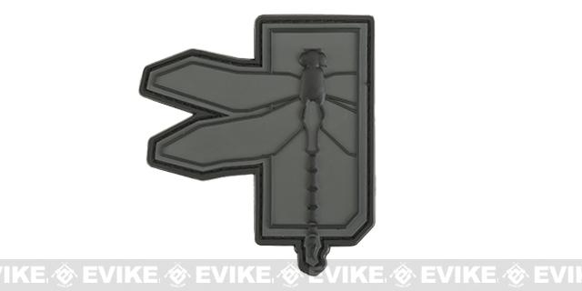 Haley Strategic Partners Dragonfly PVC Patch - Disruptive Grey
