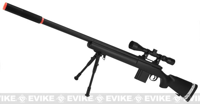 Bone Yard - Hawk Arms PSG-24 Professional Series Airsoft Bolt Action Sniper Rifle (Store Display, Non-Working Or Refurbished Models)
