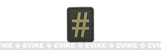 Evike.com PVC Hook and Loop Patch #