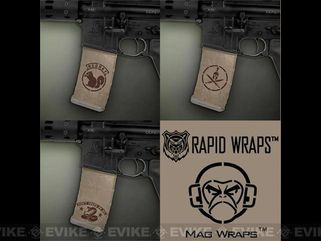z US NightVision Mag Wraps™ Rapid Wraps - Mil Spec Monkey: FDE / Brown