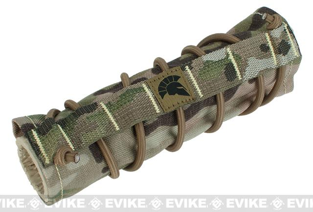 Griffon Industries Heat & Mirage Mitigation System Middy for 7.5 Suppressors (Color: Multicam)