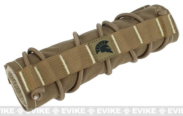 Griffon Industries Heat & Mirage Mitigation System Middy for 7.5 Suppressors (Color: Coyote)