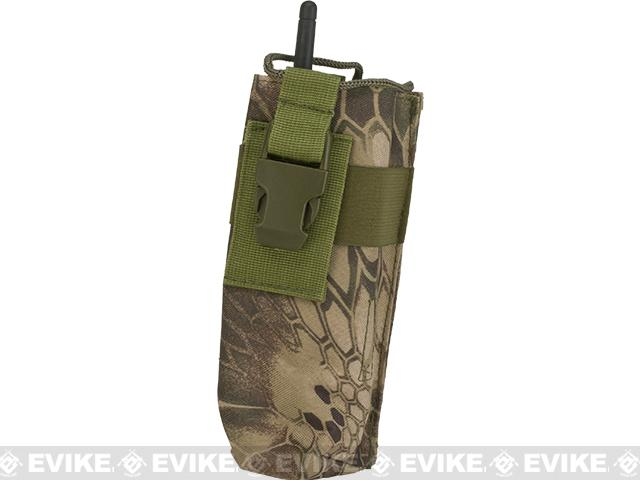 Matrix MOLLE Compatible Walkie Talkie Pouch - Woodland Serpent
