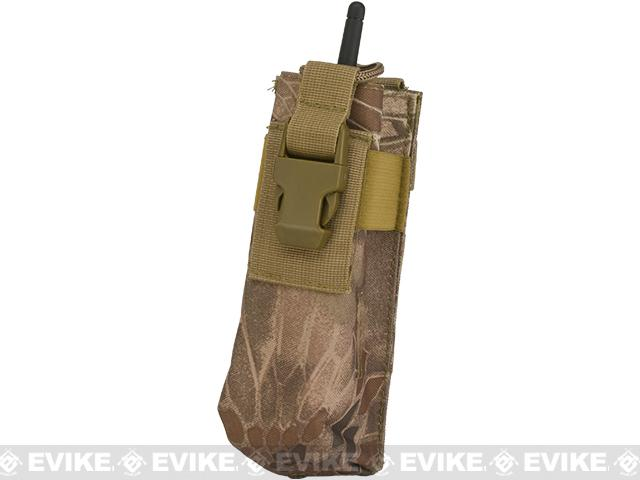 Matrix MOLLE Compatible Walkie Talkie Pouch - Dark Arid Serpent