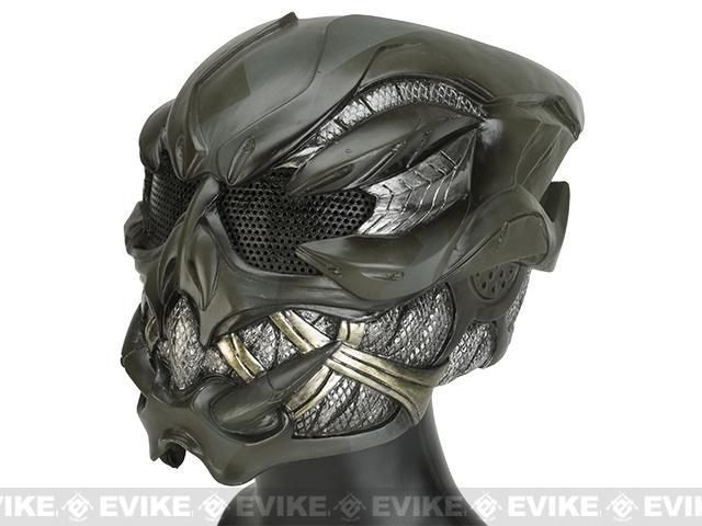 Evike.com R-Custom Fiberglass Wire Mesh Gunner Full Face Mask (Color  418d0897a