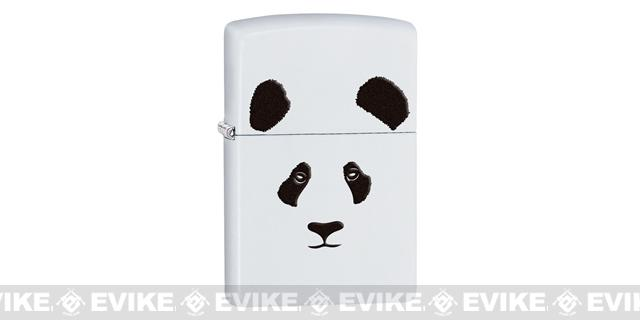 Zippo Classic Lighter Wild Series (Model: Panda / White)