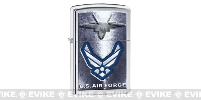 Zippo Classic Lighter - U.S. Air Force (Chrome)
