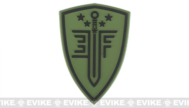 Elite Force PVC Shield Patch - Green