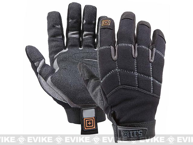 5.11 Tactical Station Grip Black Gloves (Size: Large)