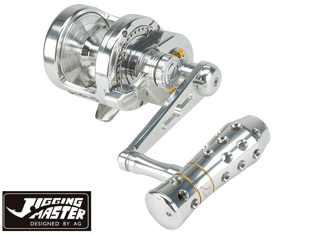 Jigging Master Monster Game High Speed Fishing Reel - Silver (Size: PE4)