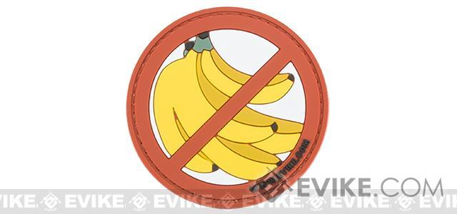 Evike.com Battle Angler Catch More Fish / No Bananas Tactical Fishing PVC Patch