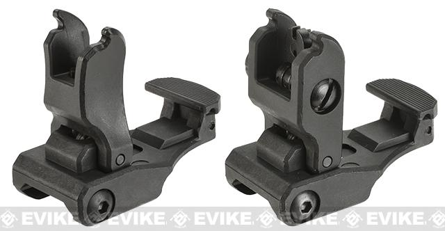 Dytac / S&T Flip-Up Folding Back Up Sight Set