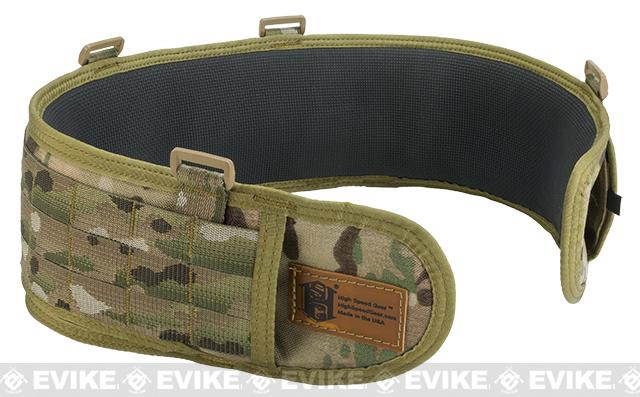 HSGI SureGrip Padded Military Belt - Multicam / 35.5