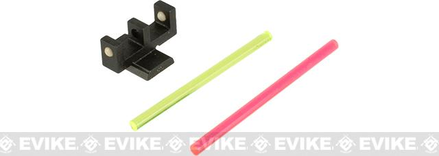 5KU Fiber Optic Front Sight for Tokyo Marui Hi-CAPA Series Gas Pistols - Type 1
