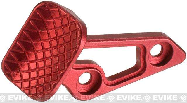 5KU Skidproof Thumb Rest for Tokyo Marui Hi-Capa Gas Powered Airsoft Pistols - Red  (Right Hand Version)