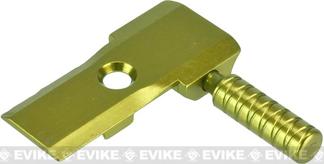 5KU Low Profile CNC Aluminum Alloy Cocking Handle for Tokyo Marui 5.1 Hi-Capa Pistols (Color: Gold)