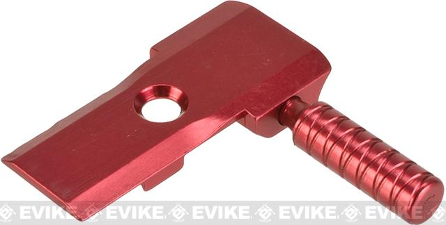 5KU Low Profile CNC Aluminum Alloy Cocking Handle for Tokyo Marui 5.1 Hi-Capa Pistols (Color: Red)