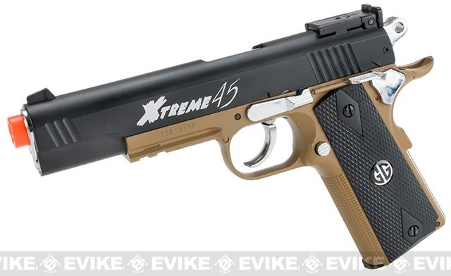 G&G Xtreme 45 CO2 Gas Airsoft Pistol (Color: Desert)