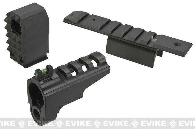 WE-Tech Front Sight for Dragon / CQB Master Alpha Series Airsoft GBB Pistols-Black